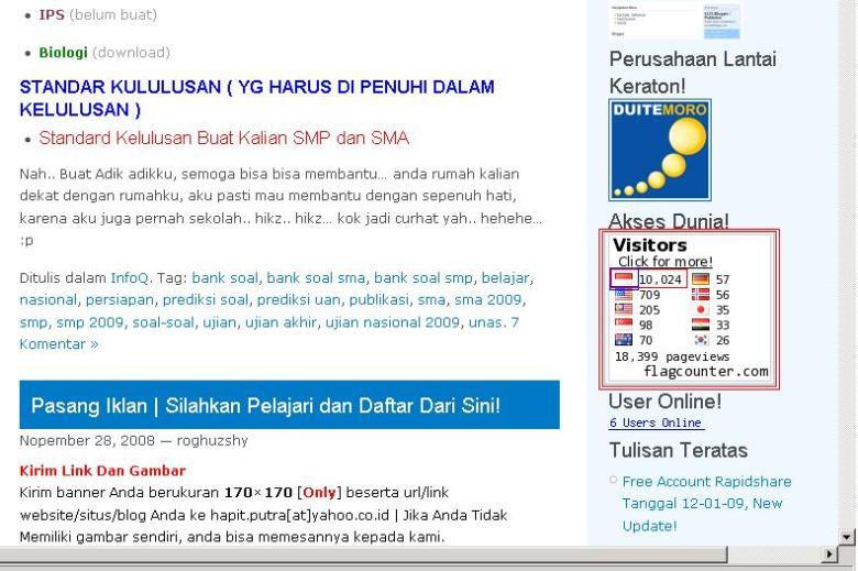10.000 Pengunjung blog